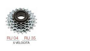 Ruota libera 5 velocita'  nuova tipo di bici componenti