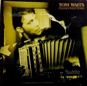 Tom Waits - 33 giri LP vinile