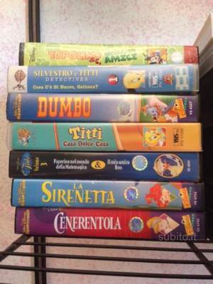 VHS classici Disney videocassette