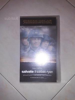 """VHS originale """"Salvate il soldato Ryan"""""""
