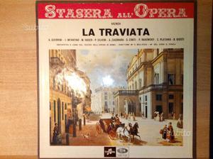 Verdi Traviata COLUMBIA Box 2 dischi vinile Guerri