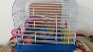 2 gabbie per criceti e piccoli roditori
