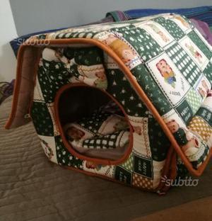 Cuccia a divanetto con cuscino interno posot class for Cuccia cane morbida