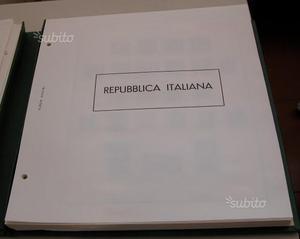 Francobolli italia repubblica dal dal  al