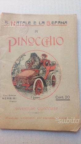 Il Natale e la Befana di Pinocchio Nerbini Fi