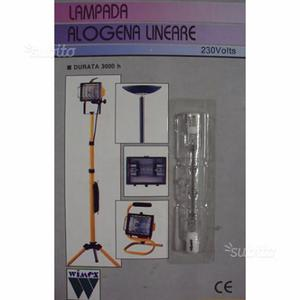 Lampada alogena wimex lineare 230v 200w