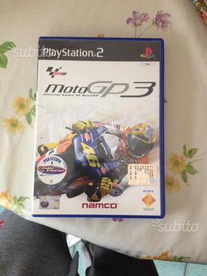 Moto gp 3 per PS 2