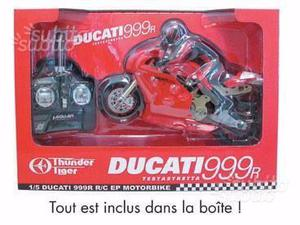 Moto rc ducati 999 thunder tiger 1/ 5