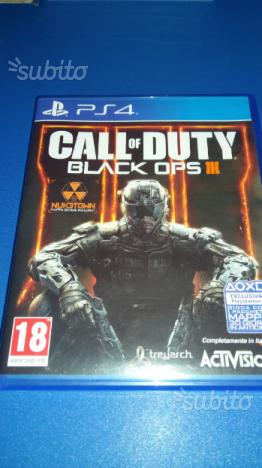 Ps4 gioco call of duty black ops 3