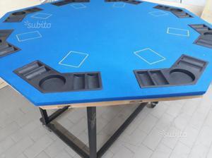 Tavolo da poker pieghevole posot class for Tavolo poker