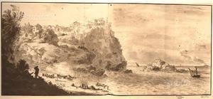 Vedute antiche calabria  Paola Tropea Scilla