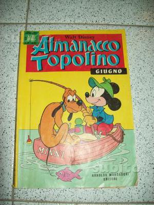 ALMANACCO TOPOLINO Walt Disney del GIUGNO