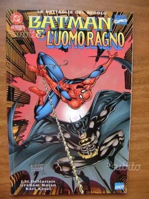 Batman e l'Uomo Ragno - Le Battaglie del Secolo 18