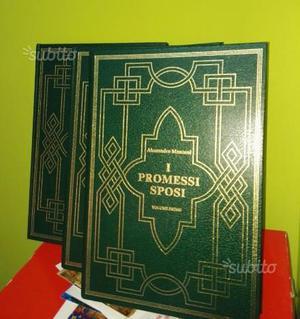 I PROMESSI SPOSI opera completa 3 volumi