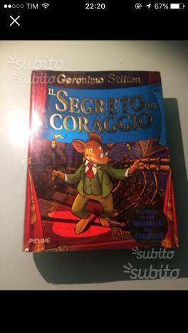 Il segreto del coraggio- Geronimo Stilton