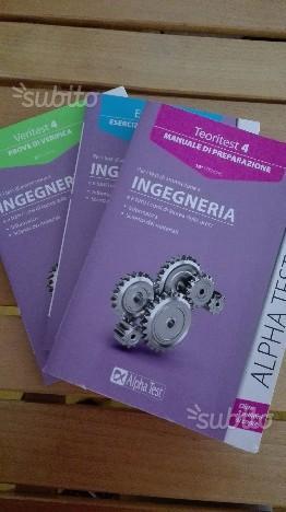 Libri Alpha Test per ammissione ad INGEGNERIA