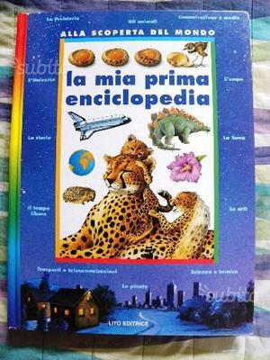 Libro - LA MIA PRIMA ENCICLOPEDIA - LITO EDITRICE
