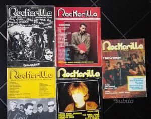 Lotto rockerilla anni 80