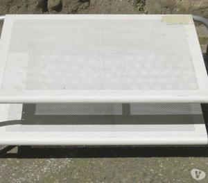 Porta a soffietto bianca a doppia anta posot class - Montare una porta a soffietto ...
