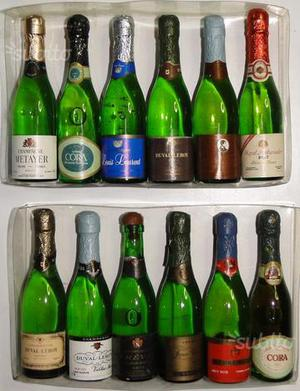 2 lotti miniature Champagne e SPUMANTI