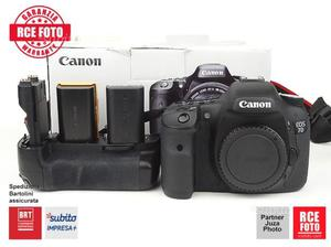 Canon 7D (body) + BG + II batteria -  scatti