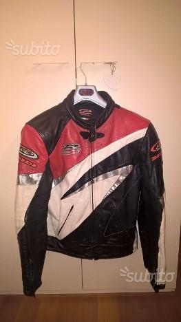 Giubbotto e pantalone pelle moto Alpinestar