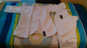 "Judogi ""HAJIME"" bianco in cotone per bambino h 130"