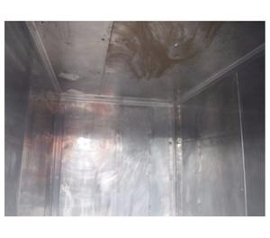 cella monoblocco per prodotti ittici in acciaio inox usata