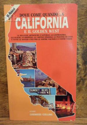 California, Baedeker De Agostini guida turistica