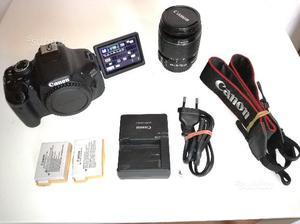 Canon 600D + EF-S mm + 3 batterie