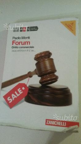 Forum diritto comm. Terza edizione di E se usato