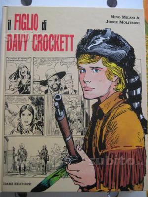 Fumetto cartonato Il figlio di Davy Crockett