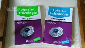 Libri Alpha Test esame psicologia
