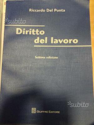 Libro di diritto del lavoro