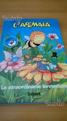 """Libro """" l'ape maia""""  (spedisco)"""
