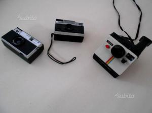 Tre macchine fotografiche anni