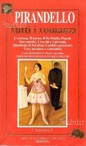 Tutti i romanzi Luigi Pirandello - I MAMMUT