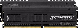 Ballistix ® Kit di Memoria RAM DDR4 da 8 GB