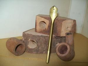 Mecchia da 20 mm per forare il fornello di pipa in acciaio
