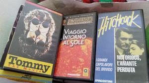 Centinaia di videocassette originali ottimi titoli