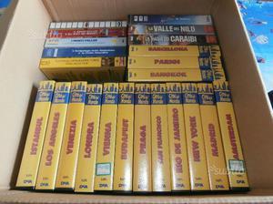 Collezione di n. 23 VHS Città del Mondo