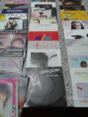 Dischi 45 giri vari generi degli anni 80