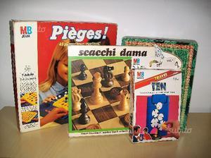 Giochi in scatola vintage anni 80