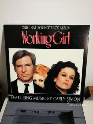LP Colonna sonora film Working Girl