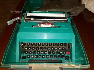 Macchina per scrivere antica Olivetti studio 45