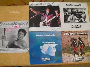 N.5 dischi di EDOARDO BENNATO 33 giri in vinile