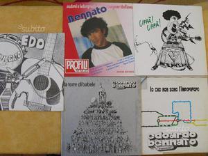 N.5 dischi di EDOARDO BENNATO in vinile 33 giri