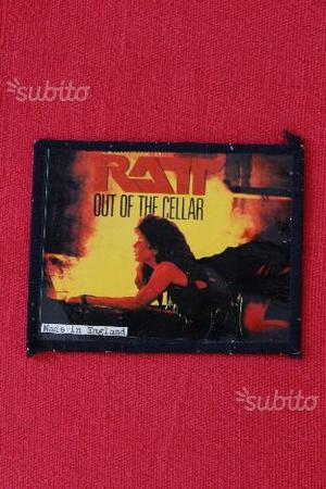 RATT- OUT OF THE CELLAR patch/toppa