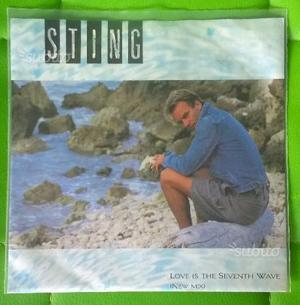 STING - Love is the seventh wave 45 giri
