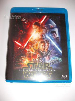 Star Wars VII Il Risveglio della Forza blu ray